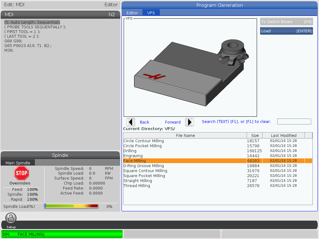 What 39 s new next generation haas automation inc cnc for Nextgen template editor